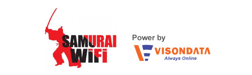 Let's enjoy your trip with Samurai WiFi